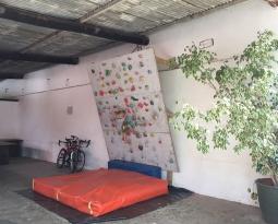Montagu Climbing Wall now at De Bos