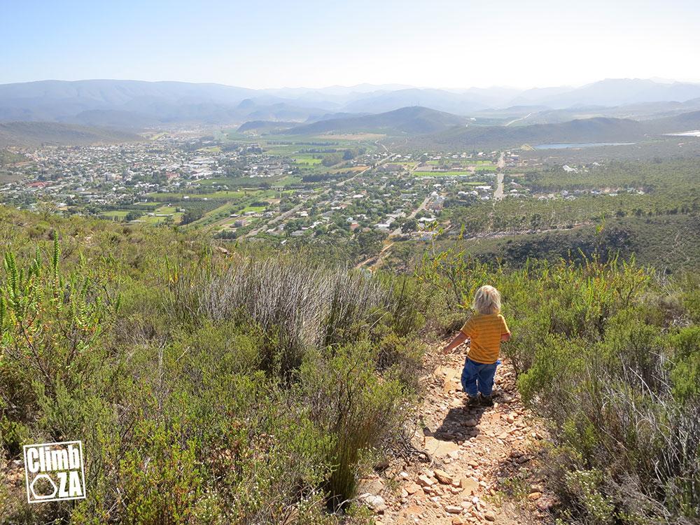 Montagu Hiking Trails - Aasvoëlkraans trail down to Montagu