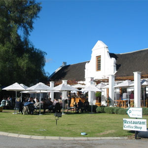 Café Maude at Bon Courage Wine Estate on R317 near Robertson