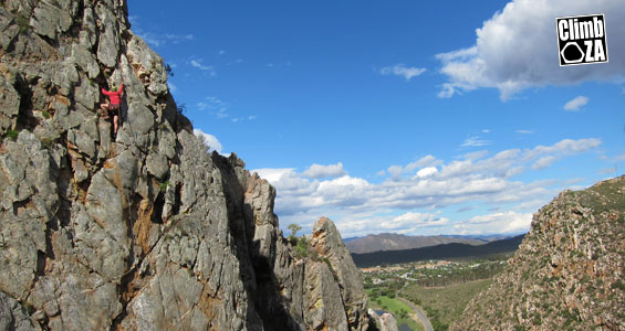 Guided Climbing in Montagu