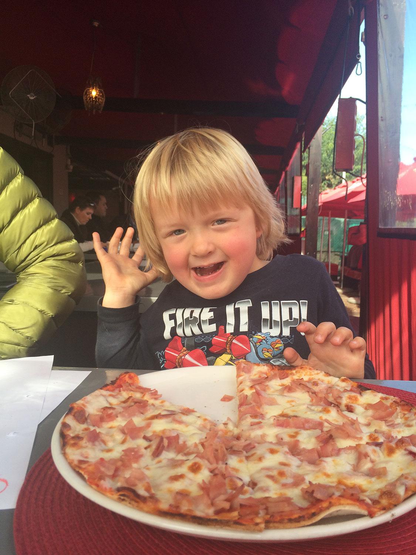 Bourbon Street Kids Pizza