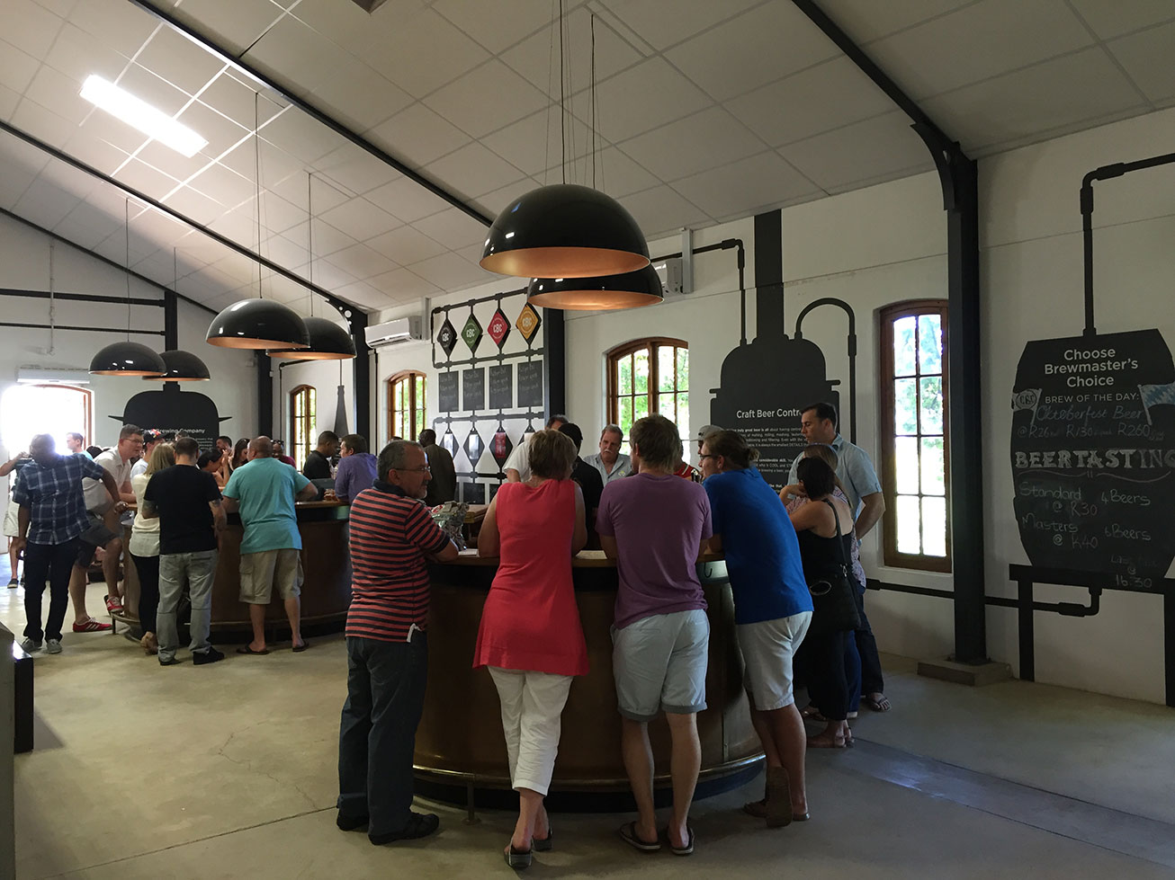 The Spice Route Paarl CBC Brewery Tastings