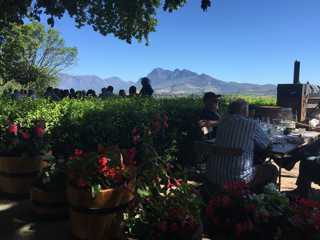 The Spice Route Paarl Bertus Basson view