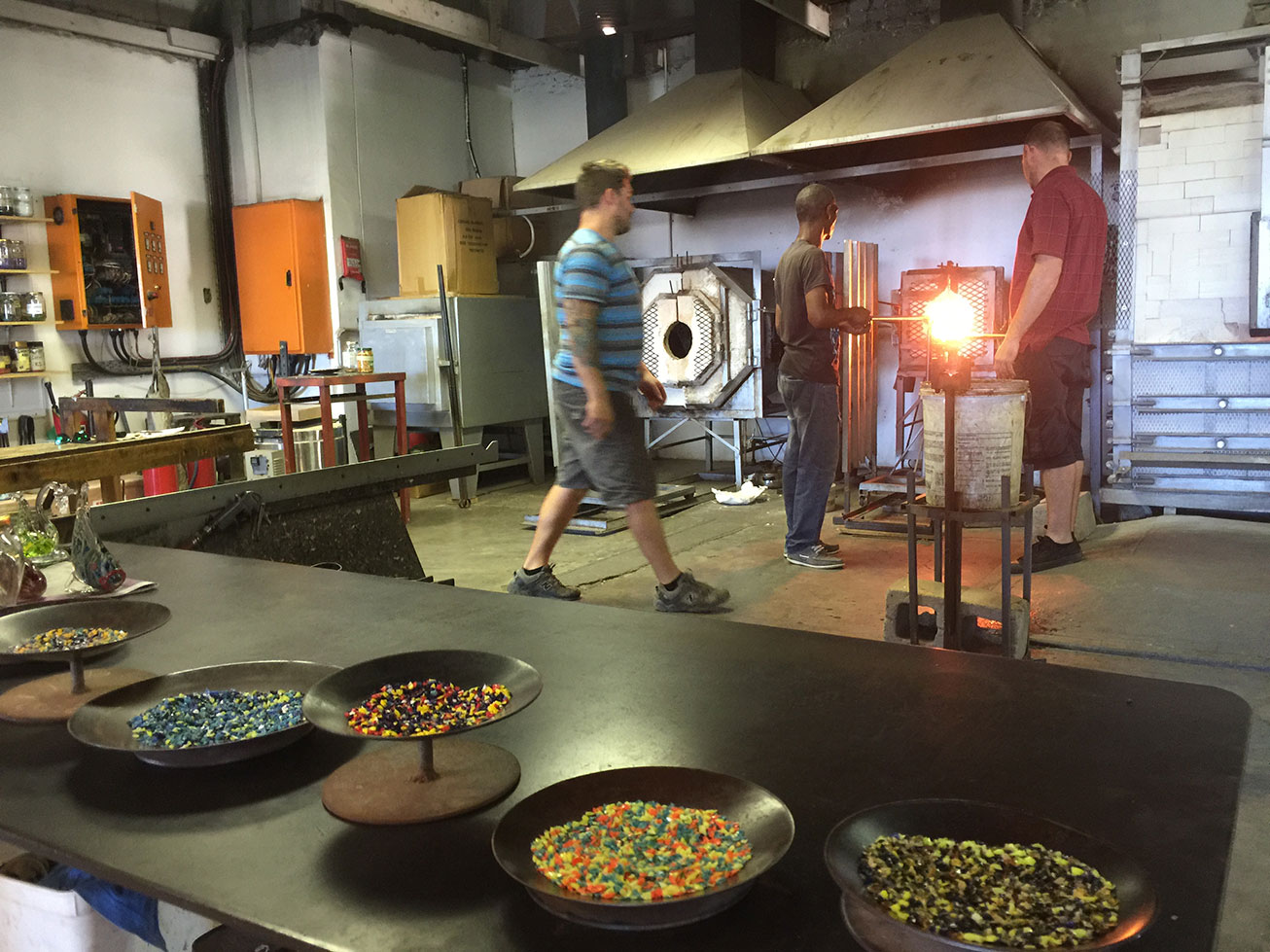 The Spice Route Paarl Glass Blowing
