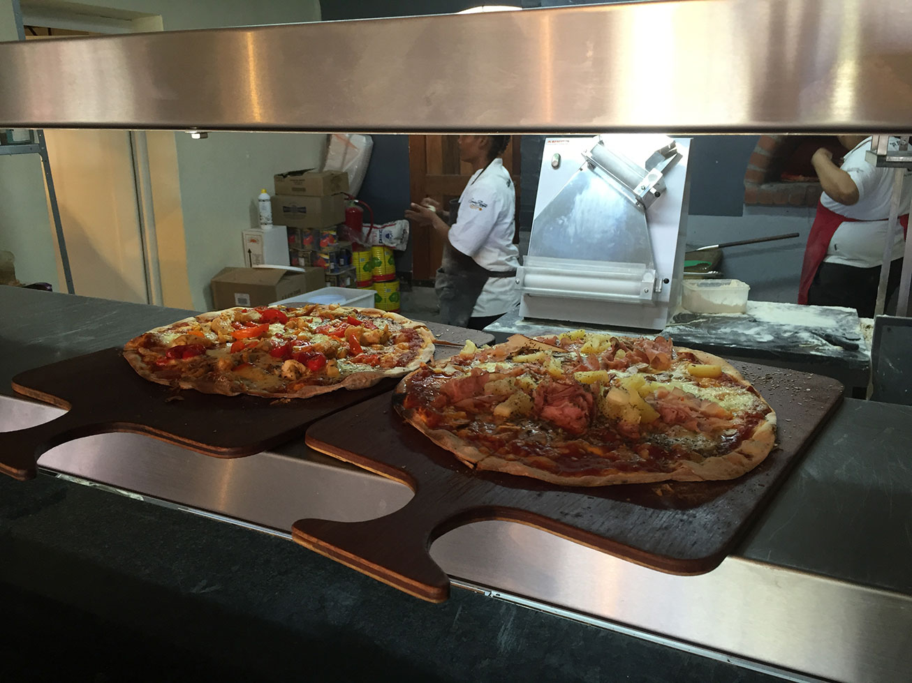 The Spice Route Paarl Pizzas