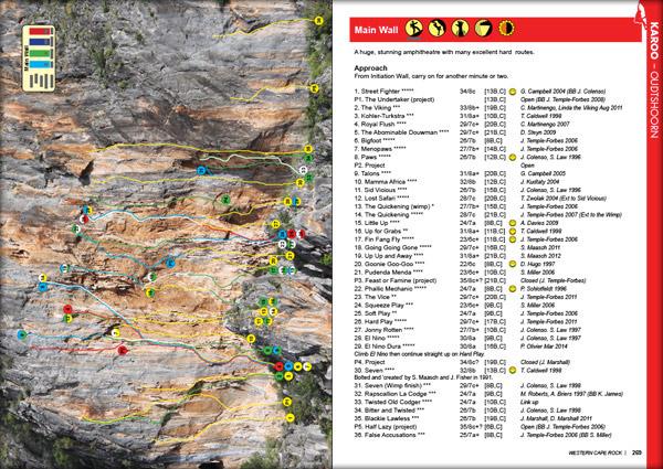 Western Cape Sport Climbing Guidebook