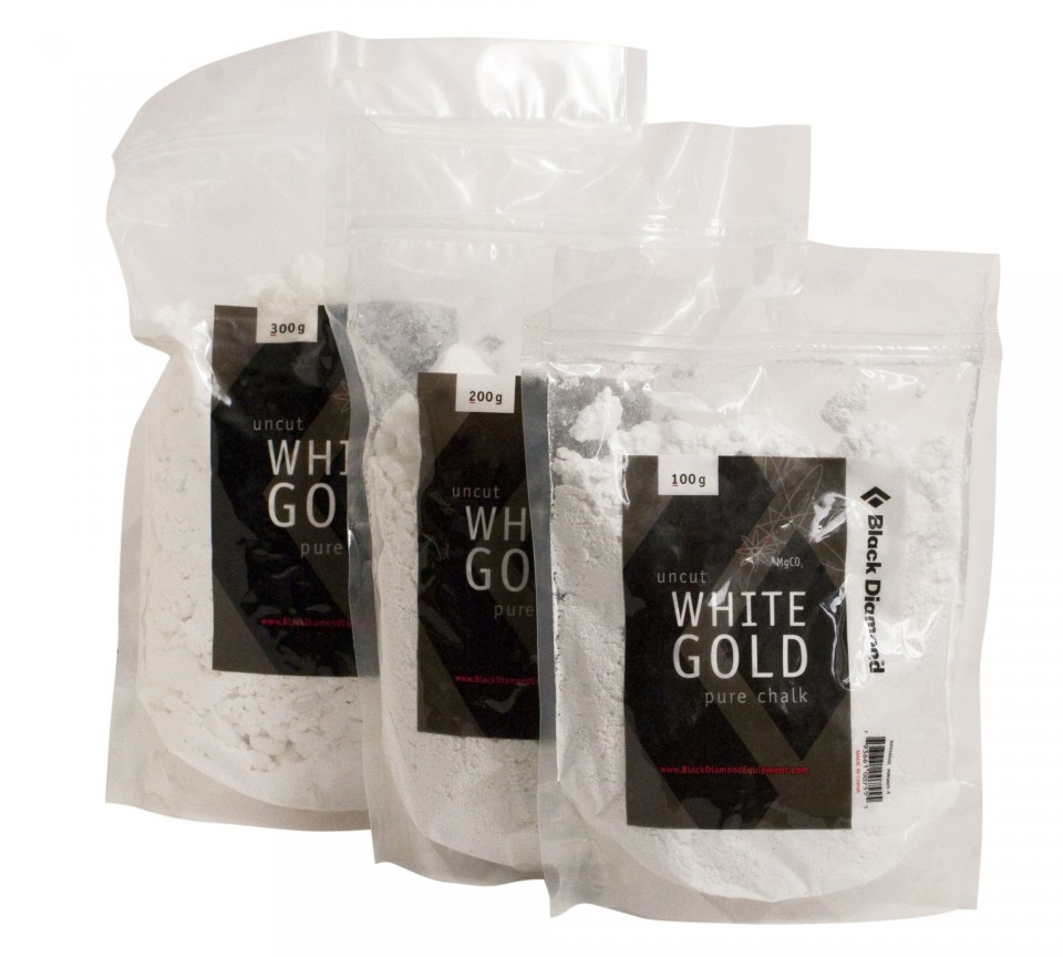 Black Diamond White Gold Pure Chalk Loose