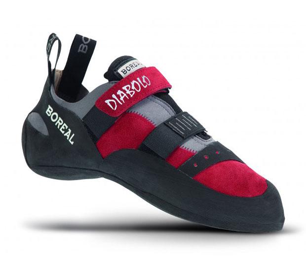 Boreal Diabolo Climbing Shoe Red