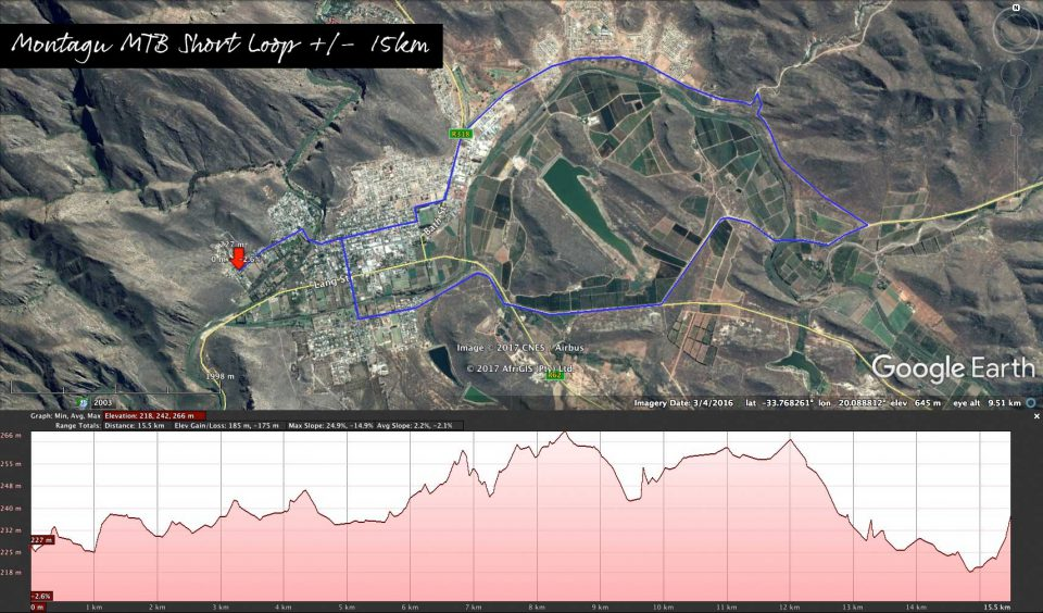 Montagu Mountainbiking Short Loop - 15km